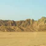 Aegyten Arabische Wueste zwischen Hurghada und Luxor
