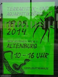 Terraristik- und Aquaristikboerse Reptiquana in Altenburg beim Goldenen Pflug 1