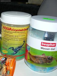 Wassergel, gebundenes Wasser -Terraristikzubehoer für die Haltung und Pflege der Leopardgeckos