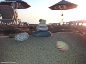 türkische Riviera - am Strand